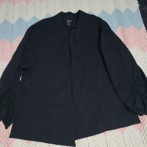Torrid Asymmetrical Blazer w/Slouch 3/4 Sleeves
